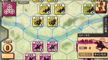姉川の戦いレイアウト