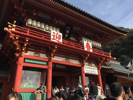 鎌倉鶴丘八幡宮